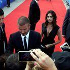 Bain de foule pour David et Victoria Beckham