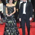 Kate Middleton en Alexander McQueen et le prince William