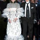 Karl Lagerfeld et Caroline de Monaco