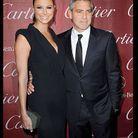 George Clooney et Stacy Keibler au Palm Spring Festival
