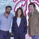 Grégory Montel, Camille Cottin et Nicolas Maury