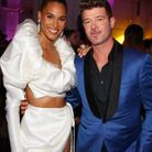Cindy Bruna et Robin Thicke