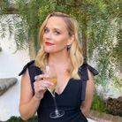 Reese Witherspoon prête pour la soirée