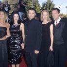 Jennifer Aniston, Courteney Cox, Matt Le Blanc, Lisa Kudrow, Matthew Perry et David Schwimmer lors des Screen Actors Guild Awards en 1999