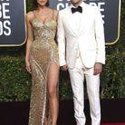 Bradley Cooper en Gucci et Irina Shayk en Atelier Versace
