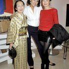 Inès de la Fressange, la comtesse Setsuko Klossowska de Rola et Arumo Klossowska de Rola