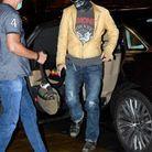 Johnny Depp arrive à l'hôtel Maria Cristina