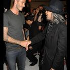 David Beckham au défilé Y-3
