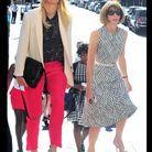Maria Sharapova et Anna Wintour au défilé Victoria Beckham