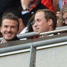 David Beckham et le prince William