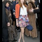 People tapis rouge defile haute couture chanel ana girardot