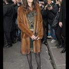 People tapis rouge defile haute couture chanel anna mouglalis