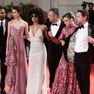 Kristen Stewart et l'équipe du film