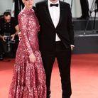 Kristen Stewart pose avec le réalisateur Benedict Andrews