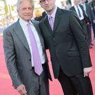 """Michael Douglas et Steven Soderbergh sur le tapis rouge de """"Ma vie avec Liberace"""""""