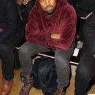 kanye West au défilé Jeremy Scott