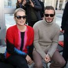 Kate Moss et David Beckham au défilé Louis Vuitton