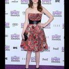 Anna kendrick lors de la cérémonie des Independent Spirit Awards