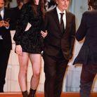 Le couple sur le tapis rouge