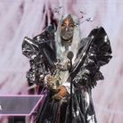 Lady Gaga dans sa tenue elfique