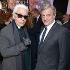 Karl Lagerfeld et Sydney Toledano