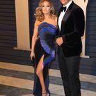Jennifer Lopez en Zuhair Murad et Alex Rodriguez