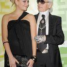 Karl Lagerfeld et Pixie Lott