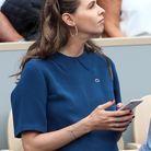 Ophélie Meunier, enceinte à Roland Garros