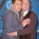 Dany Boon et Philippe Katerine très joueurs sur le tapis rouge