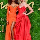 Jourdan Dunn en Versace et Karlie Kloss