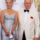 Sharon Stone et le prince Albert