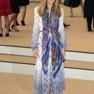 Olivia Palermo au défilé Burberry Prorsum