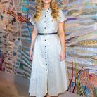 Jennifer Lawrence au défilé Dior
