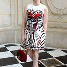 Jessica Chastain au défilé Dior
