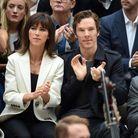 Benedict Cumberbatch au défilé Burberry Prorsum