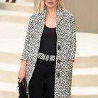 Kate Moss au défilé Burberry Prorsum