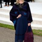 Mélanie Laurent au défilé Burberry Prorsum