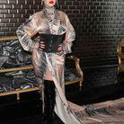 Christina Aguilera au défilé Jean Paul Gaultier