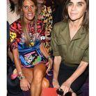 Anna Dello Russo et Carine Roitfeld au défilé Gucci
