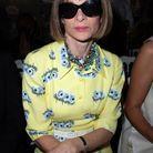 Anna Wintour au défilé Dior