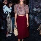 Jeanne Damas au défilé Dior