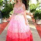 January Jones au défilé Dolce & Gabbana