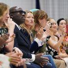 Kate Moss au défilé Richard Quinn