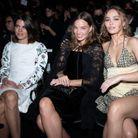 Le front row du défilé Chanel