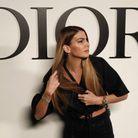 La mannequin Bianca Brandolini lors du défilé Dior