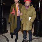 Le chanteur Mika accompagné du créateur Christian Louboutin