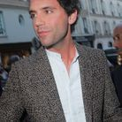 Mika au défilé Valentino