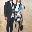 Justin Timberlake et Jessica Biel au défilé Louis Vuitton
