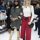 Naomi Campbell et Claudia Schiffer