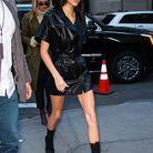 Kendall Jenner au défilé Longchamp